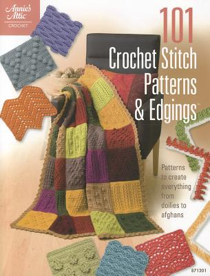 101 Crochet Stitch Patterns & Edgings By Ellison, Connie (EDT)